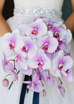 Orchid Wedding Bouquet - Jenna Leigh Wedding Photography