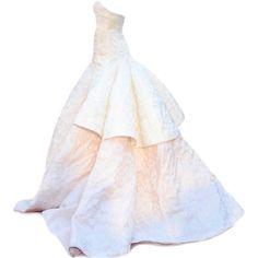 edited by Satinee - Jennifer Lawrence's Oscar Dress ❤ liked on Polyvore