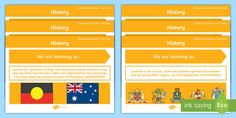 Use these posters to display the HASS content descriptors in an interesting and informative display. Aboriginal Children, New Beginnings, Content, Learning, History, Historia, Studying, History Books, History Activities