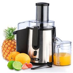 CUH Professional Stainless Steel Whole Fruit Vegetable Juicer Juice Extractor – Free Discounts Uk Fruit And Vegetable Juicer, Fruit Juicer, Philips Viva Collection, Centrifugal Juicer, Best Juicer, Juice Extractor, Keeping Healthy, Selling On Ebay, Fruits And Vegetables