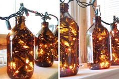 18 Different Ways to Repurpose Your Beer Bottles via Brit + Co.