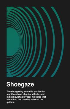 """I read the term """"shoegaze"""" for the first time today (about 20 years after shoegazing was current?). Learning something new every day."""