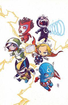 Uncanny Baby Avengers