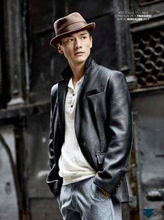 chapéu casaco de couro mole