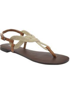 Women's Braided-Rope Sandals