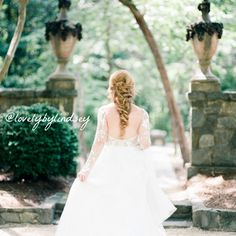 Another view of how this soft, loose long mermaid braid came out! The hair piece from natural_design is gorgeous! Thank you @loveandhoneywed for putting together a beautiful scene & @sarah_ingram for taking such beautiful photos!!
