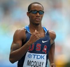 Tony McQuay - USA Track & Field. From Suncoast,FL. #FloridaProud