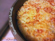 Riso croccante al forno / Ricetta light ROSSELLA IN PADELLA Rice Recipes, Sweet Recipes, Vegetarian Recipes, Cooking Recipes, My Favorite Food, Favorite Recipes, Recipe Mix, Light Recipes, Creative Food