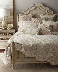 Paloma+Damask+King+Duvet+Cover++and+Matching+Items+by+Sweet+Dreams+at+Horchow.