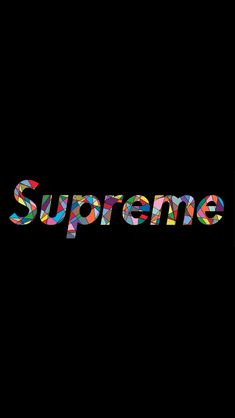 Supreme logo (version 1)