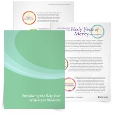 This Introducing the Holy Year of Mercy to Students eBook offers four practical suggestions for catechists to introduce the jubilee to students. It can also be used at home by parents and children.