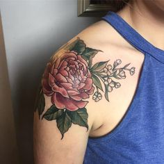 Peony Tattoo 72