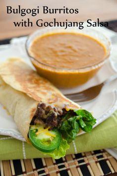 Recipe: Bulgogi Burritos with Gochujang Salsa