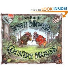 Town Mouse, Country Mouse - possible read aloud for communities unit
