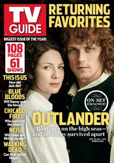 'Outlander' Joins 60 Other Returning Favorites in TV Guide Magazine's Biggest Issue of 2017     The official site of TV Guide Magazine