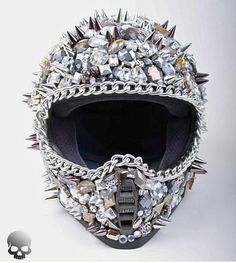 Blinged out helmet
