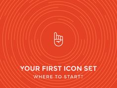 Creating Your First Icon Set designed by Justas Galaburda. Connect with them on Dribbble; I Icon, Icon Set, First Time For Everything, Small Icons, Little Games, Animated Icons, Very Scary, Pen And Paper, Shout Out