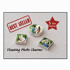 Floating Charm /Floating Locket Charm / Floating Photo Charms for magnetic locket necklace /Personalized / Pics2Jewels / Valentines Day Gift by Pics2Jewels on Etsy https://www.etsy.com/listing/189928687/floating-charm-floating-locket-charm