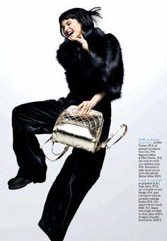Celia Becker by Adé Adjou for Cosmopolitan France December 2013