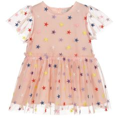 db980326f #Pink tulle #dress set for little girls by Stella #McCartney Kids, with