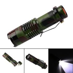 18650 Battery With Charger For Camping Outdoor Crease-Resistance T6 Q5 Led Flashlight Riding Torch Magnetic Work Lamp Sports Lampe Torche Led Flashlights