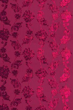 Anna French velvet wallpaper