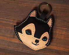 100% Handmade Reindeer Key chains  Cute Animal Key by AnneSoye