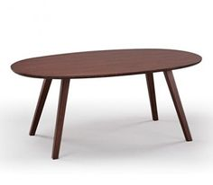SImple oval coffee table from Y Living