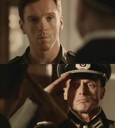 Dick Winters (Damian Lewis) and the German general <3 Points