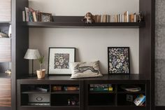 hone the home Floating Shelves, My House, Bookcase, Sweet Home, Apartments, Home Decor, Interior, House, Decoration Home