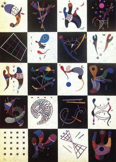 Wassily Kandinsky. 4 x 5 = 20. 1943. | The Athenaeum