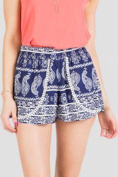 McKinley Printed Shorts