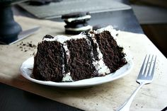 Stuffed Oreo Cake -