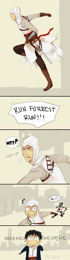 Run Altair, RUN by Uccan on deviantART