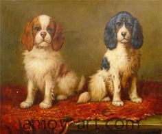 AA04DG001 (6)-Dog-China Oil Painting Wholesale | Portrait Oil Painting| Museum Quality Oil Painting Reproductions