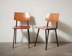 Friso Kamer Style Industrial School Chairs