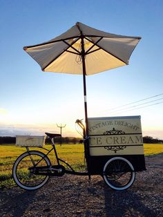 Vintage Ice Cream Tricycle for hire at weddings & events throughout the UK.  www.vintagedelighticecream.com