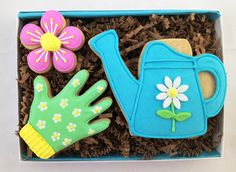 Mother's Day Garden Cookie Card