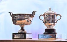 Les trophées de Roland Garros