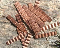 10 copper tone base metal vintage findings by debsdesigns401 on Etsy