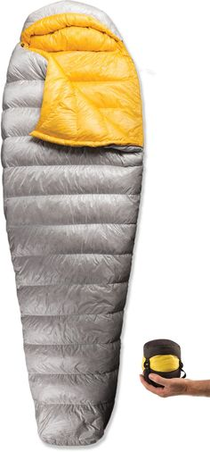TRY - Sea to Summit Spark SpI Sleeping Bag - REI.com so yummy and small!