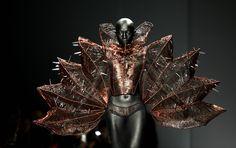 28. Oktober 2013, #Beijing: Auch #China hat eine #Fashion #Week: Diese Kreation, die in Beijing präsentiert wurde, stammt von #Designer Hu Sheguang. (Foto: Reuters) http://www.noz.de/artikel/424208/