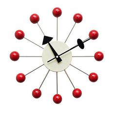 One of the easiest George Nelson designs to spot is one of his clocks. Whether you go for the Ball Clocks or one of his Sunburst ones, these iconic clocks aren't going anywhere.