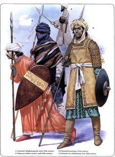Muslim warriors by Byzantinum