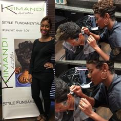 I had the pleasure of teaching some new techniques to this hair superstar Timberlin ! I admire hair artists who are willing to take classes that will advance his/her skill within our industry.. Timberlin is located in Arlington and ready to cut some hair up! by khimandi