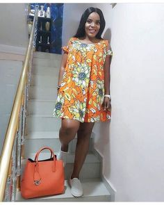 SHORT CLASSIC AFRICAN ANKARA DRESSES TO ROCK IN JUNE