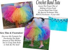 Make a Crochet Band Tutu