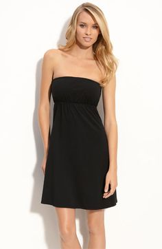 Hard Tail Strapless Cover-Up Dress
