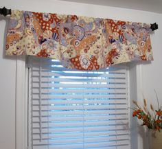 Window Valance Decorative  Linen Curtain by supplierofdreams, $54.00