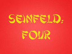 Seinfeld - The Chinese Restaurant